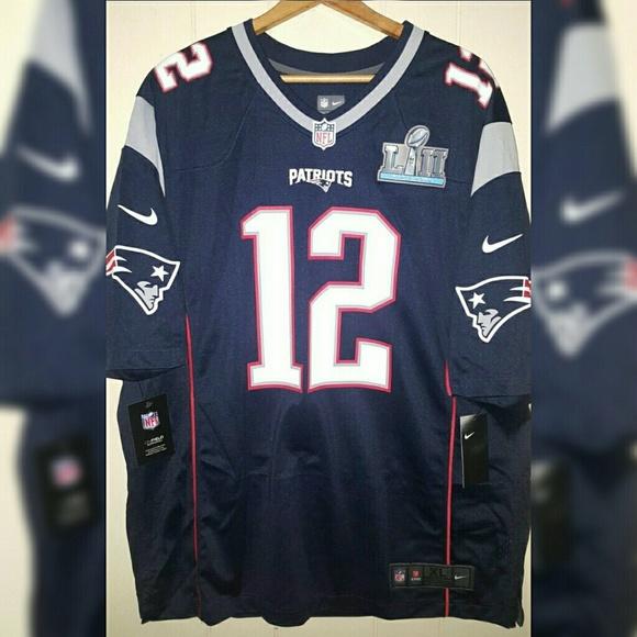 NFL Super Bowl Patriots Brady Jersey Men s Sz XL 3d7997372